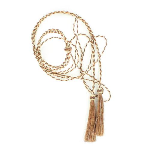 Braided Horsehair Stampede Strings - Rust