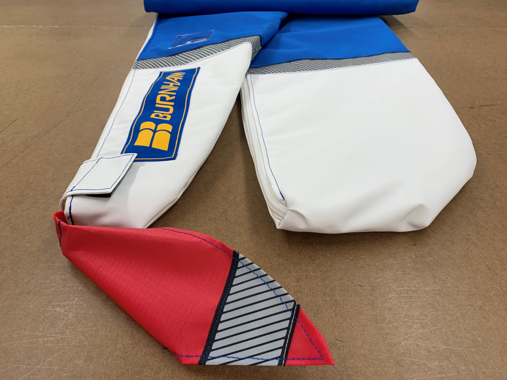 We have decades of experience covering fragile rowing shells.  Now we bring that same attention to detail to your surf ski cover!