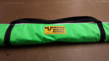 Sculling oar bag with a shoulder strap for carrying ease.