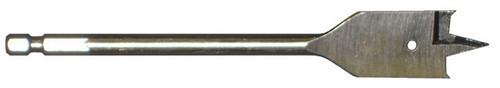 """Bit Drill Spade/Flat Wood 1.000 (1"""") x 6"""""""