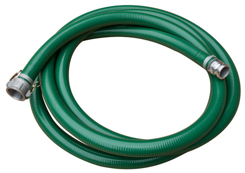 """Hose Non-Collapsible 1-1/2"""" x 25' w/QC Fittings"""