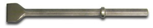 """Chisel 3"""" Wide Blade 14"""" 1-1/8"""" HEX use w/11004096"""