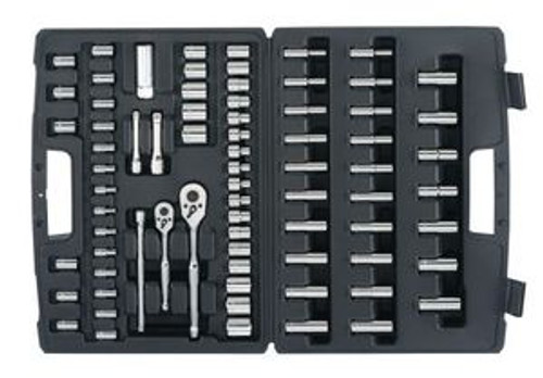 """Wrench Set 1/4"""" & 3/8"""" Dr 75Pc"""