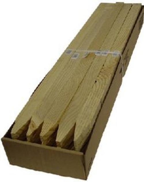 """Stake Wood Grade 1 x 2 x 30"""" 25/Pk"""