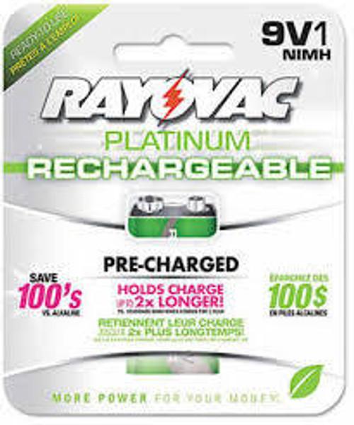 Battery 9.0V NIHM PL1604-1 (1/Pk)