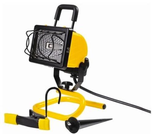 Floodlight 250 Watt Halogen 4-IN-1 w/clamp