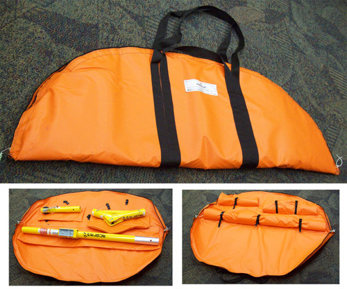 Carrying Case for Davit Kit Center Post, Elbow, and Arm ($626)