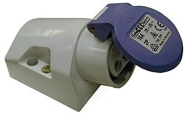 Kristal Under Gunnel Female 12/24 Volt 32 AMP Connector