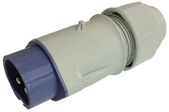 Kristal Male 12/24 Volt 32 AMP Connector