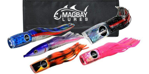 Everything You Need Marlin Lure Set - Rigged & Ready to Fish
