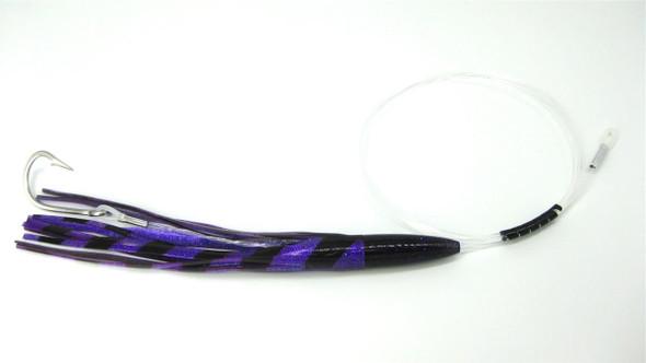Purple & Black Clone Head Rigged Mahi Tuna Lure