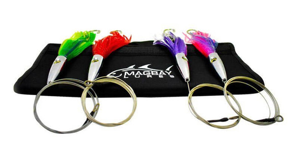 Plomerito Stainless Steel Head Tuna Lure Set
