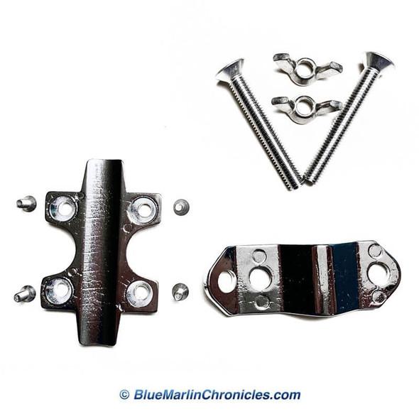 Complete Reel Seat Kit - Kristal 600 Series Reels