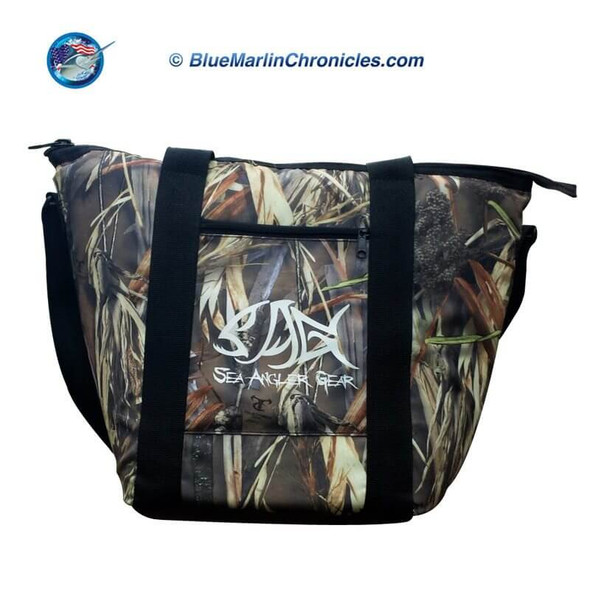 Sea Angler Insulated Camo Soft Cooler Bag