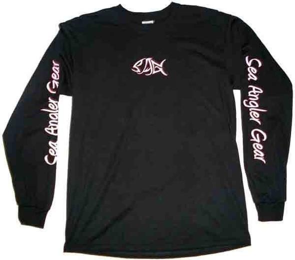 Sea Angler Gear Logo T Shirt for Ladies