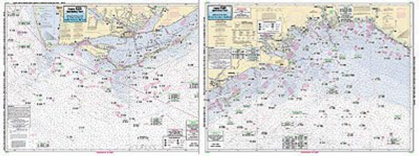 Captain Segull Chart No AA45 Apalachee Bay - Apalachicola Bay to Cape San Blas