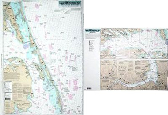 Captain Segull Chart No ALB24 Nearshore Albmarle Sound, NC