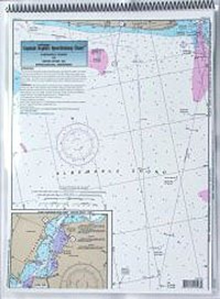 Captain Segull Chart No AN124 ICW: Albemarle to Neuse River, NC