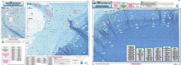 Captain Segull Chart No AT206 Atlantis To Tom's Canyon