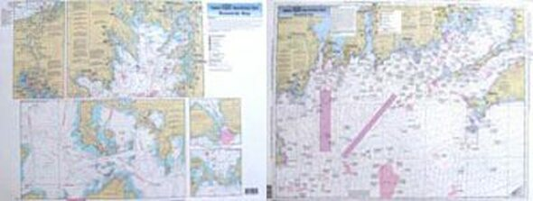 Captain Segull Chart No BB14 Offshore Buzzard's Bay