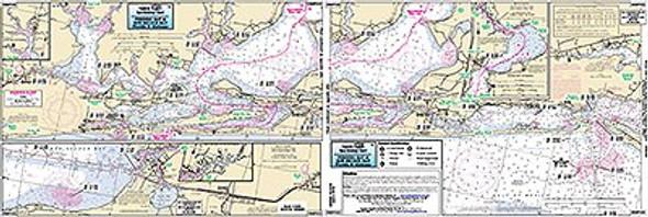 Captain Segull Chart No BSP322 Perdido Bay, FL/Bon Secour Bay, AL