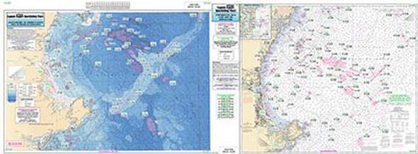 Captain Segull Chart No CA201 Cape Ann to Jeffrey's Ledge