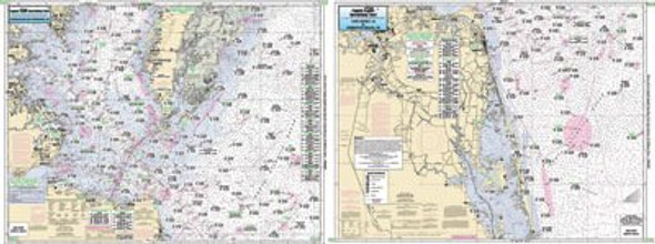 Captain Segull Chart No CBL22 Virginia to NC