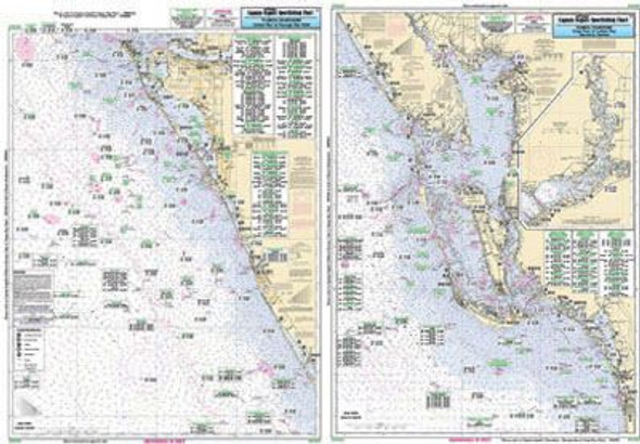 Captain Segull Chart No CHA39 Estero to Lemon Bay, FL