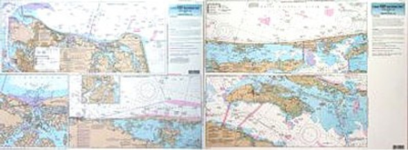Captain Segull Chart No CHO123 Inshore Norfolk, VA to Oregon Inlet, NC