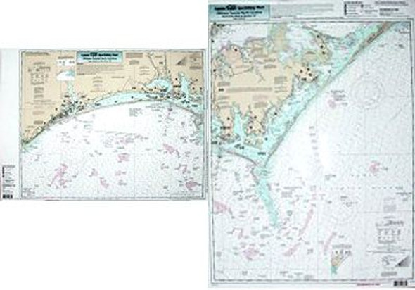 Captain Segull Chart No CLK26 Nearshore Cape Lookout, NC