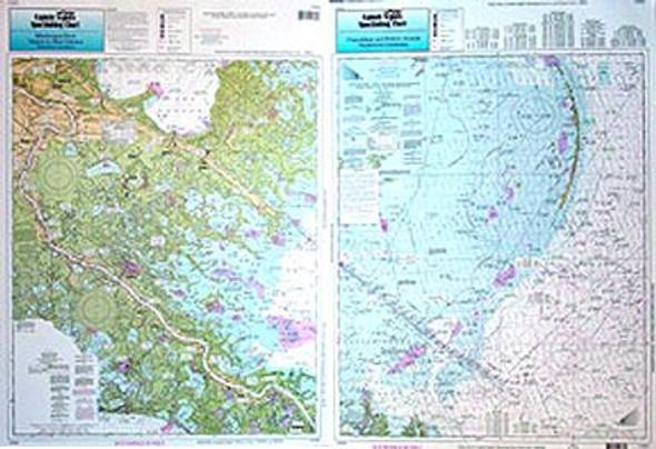 Captain Segull Chart No CMB49 Chandleur - Breton Sound Venice to New Orleans, LA