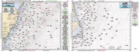 Captain Segull Chart No CMCH20 Offshore Cape May to Cape Hatteras