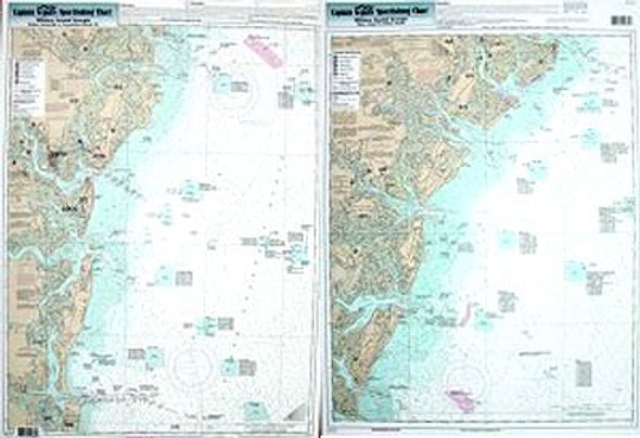 Captain Segull Chart No GA30 Nearshore Georgia