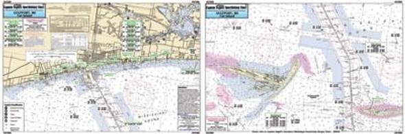 Captain Segull Chart No GCI309 Gulfport, MS to Cat Island, MS