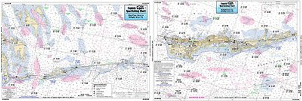 Captain Segull Chart No GSB350 Grassy Key to Big Pine Key, FL