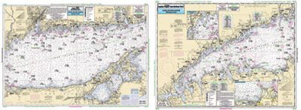 Captain Segull Chart No LI15 Long Island Sound