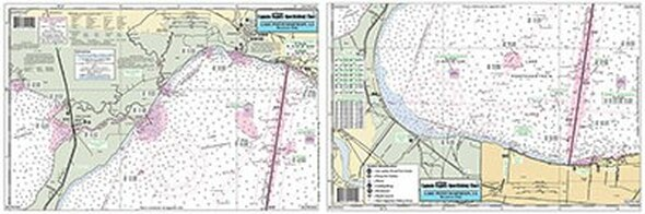 Captain Segull Chart No LPW344 Lake Pontchartrain West