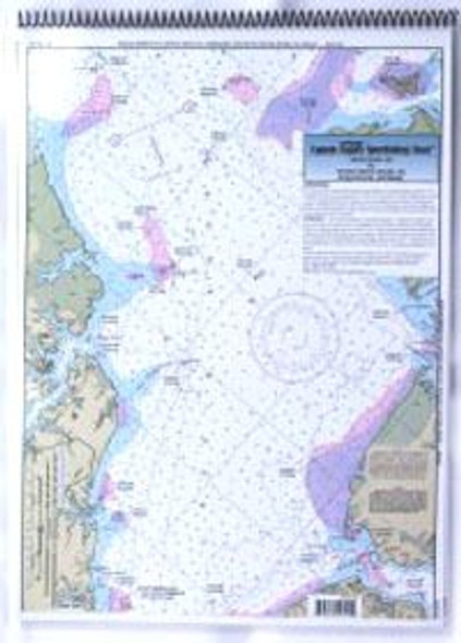 Captain Segull Chart No NM125 ICW: Neuse River to Myrtle Grove Sound, NC