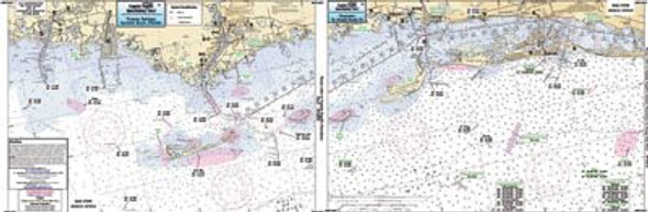 Captain Segull Chart No NPC307 Port Richey to Sand Key, FL