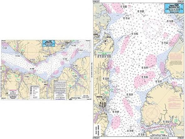 Captain Segull Chart No NRL337 Lower Neuse River, NC