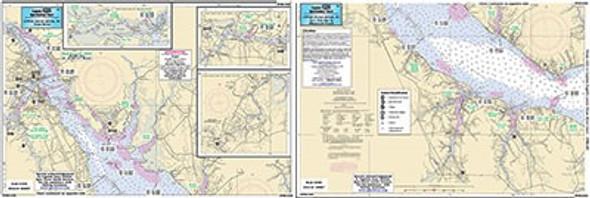 Captain Segull Chart No NRU336 Upper Neuse River, NC