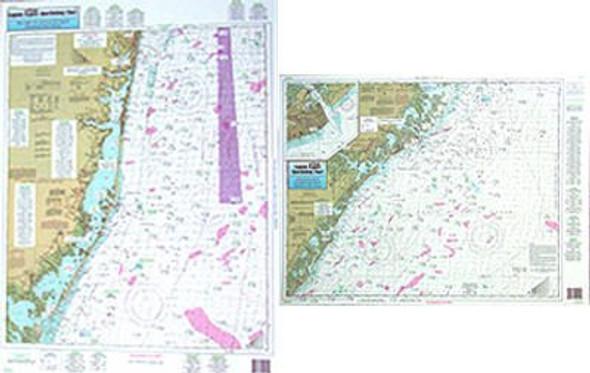 Captain Segull Chart No ONJ19 Off Coastal NJ