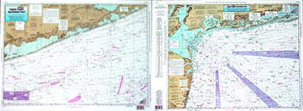 Captain Segull Chart No ONY59 Off Coastal New York