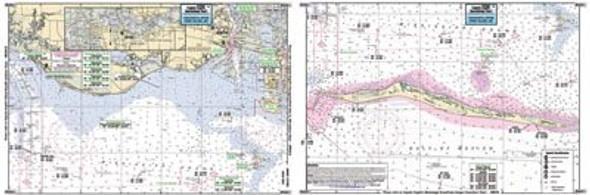 Captain Segull Chart No PAS311 Pascagoula River to Horn Island, MS