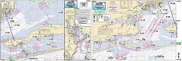 Captain Segull Chart No PEB323 Pensacola & Escambia Bays, FL
