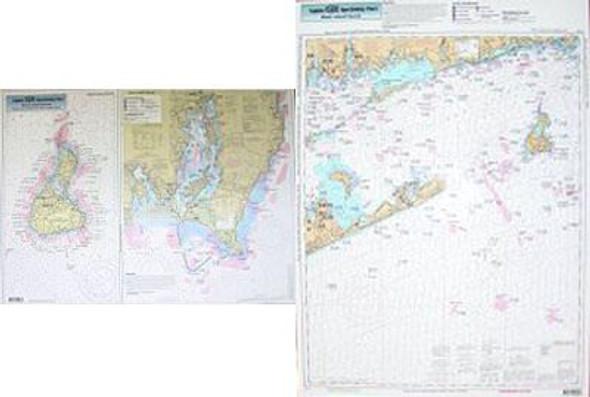 Captain Segull Chart No PJ13 Block Island Sound Point Judith RI