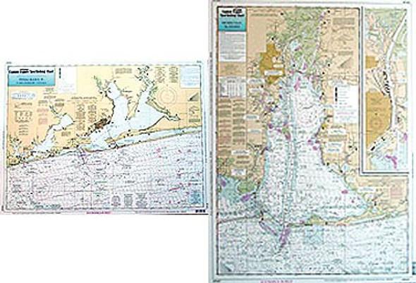 Captain Segull Chart No PM47 Pensacola, FL & Mobile Bay, AL