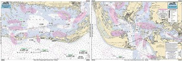 Captain Segull Chart No PSC326 San Carlos Bay to Pine Is/Sanibel & Captiva, FL