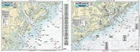 Captain Segull Chart No SC29 Near Shore South Carolina