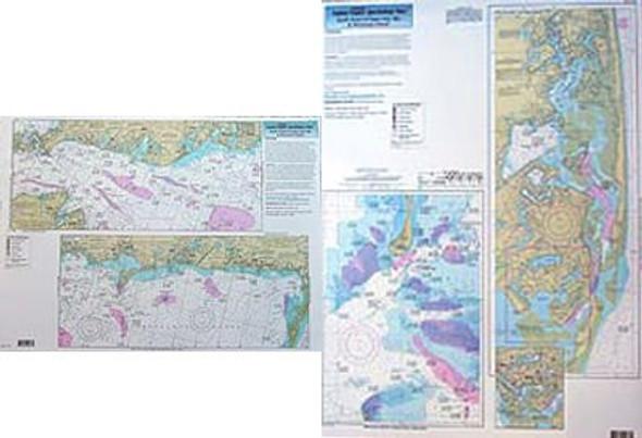Captain Segull Chart No SCC103 Inshore South Coast of Cape Cod, MA